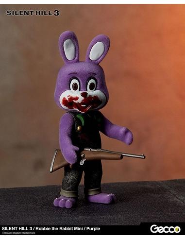 Silent Hill 3 Mini Action Figure Robbie the Rabbit Purple Version 10 cm