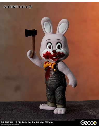 Silent Hill 3 Mini Action Figure Robbie the Rabbit White Version 10 cm