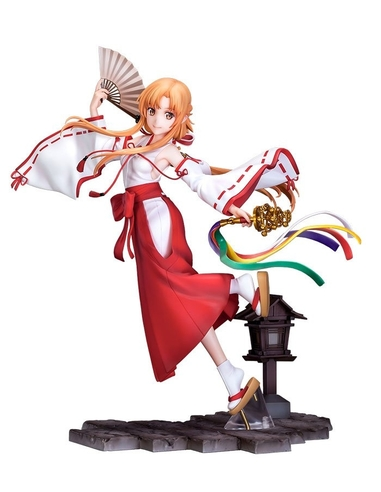Sword Art Online - Alicization - War of Underworld PVC Statue 1/7 Asuna Miko Ver. 23 cm