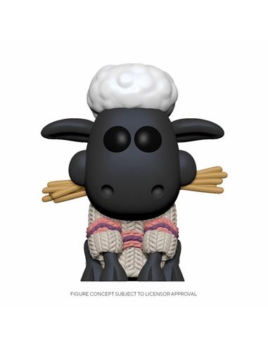 Wallace & Gromit POP! Animation Vinyl Figure Shaun the Sheep 9 cm