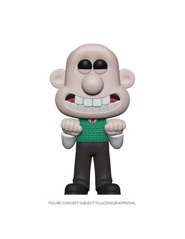 Wallace & Gromit POP! Animation Vinyl Figure Wallace 9 cm