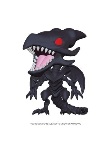 Yu-Gi-Oh! Pop! Animation Vinyl Figure Red-Eyes Black Dragon 9 cm