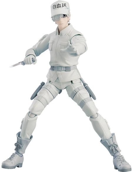 Cells at Work! figma Action Figure White Blood Cell Neutrophil 15 cm