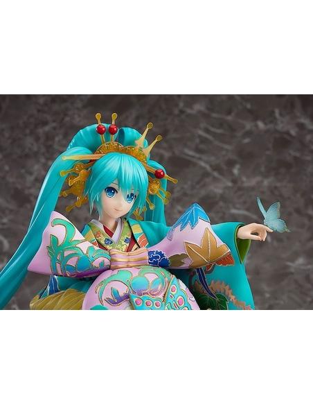 Character Vocal Series 01 Statue 1/7 Hatsune Miku Chokabuki Kuruwa Kotoba Awase Kagami Ver. 30 cm