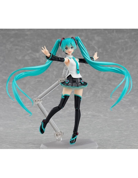 Character Vocal Series 01: Hatsune Miku Figma Action Figure Hatsune Miku V4 Chinese 14 cm