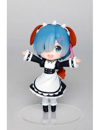 Re -Zero PVC Statue Rem Doll Crystal Dog Ears Version 14 cm