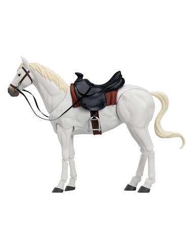 Original Character Figma Action Figure Horse ver. 2 (White) 19 cm