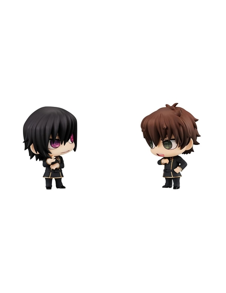 Code Geass Chimimega Buddy Series Figure 2-Pack Lelouch & Suzaku 7 cm
