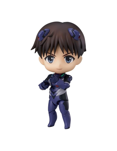 Rebuild of Evangelion Nendoroid Action Figure Shinji Ikari Langley Plugsuit Ver. 10 cm
