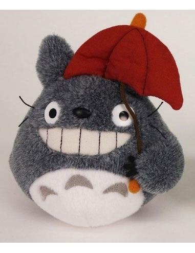 My Neighbor Totoro Plush Figure Totoro Red Umbrella 15 cm