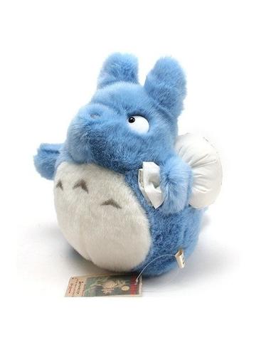 Studio Ghibli Plush Figure Blue Totoro 25 cm