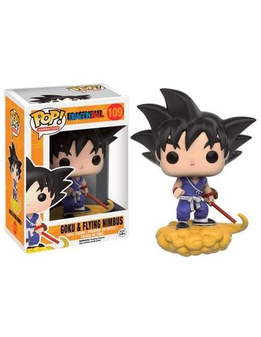 Dragon Ball Z POP! Animation Vinyl Figure Goku and Flying Nimbus 9 cm