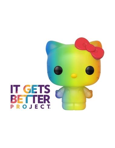 Pride 2020 Hello Kitty POP! Sanrio Vinyl Figure Hello Kitty (RNBW) 9 cm