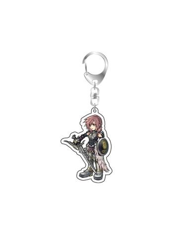 Dissidia Final Fantasy Acrylic Keychain Lightning