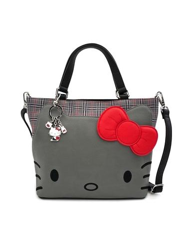 Hello Kitty by Loungefly Crossbody Grey Kitty