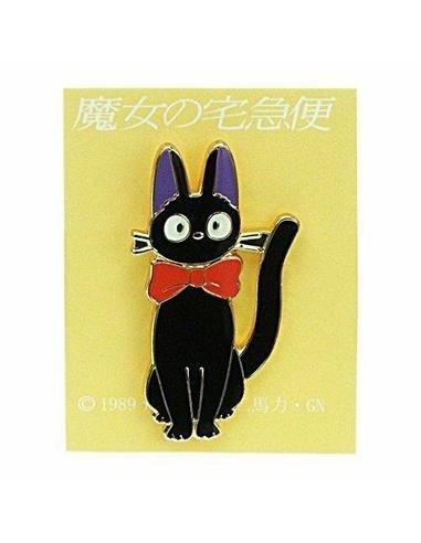 Kiki's Delivery Service Pin Badge Jiji Ribbon