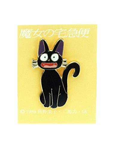 Kiki's Delivery Service Pin Badge Jiji Smile