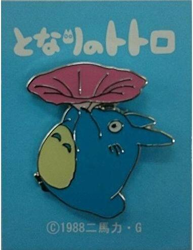 My Neighbor Totoro Pin Badge Totoro Morning Glory