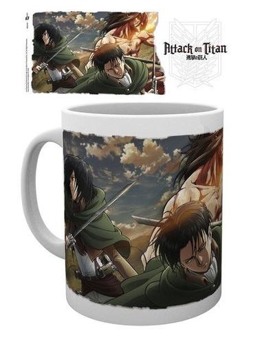 Attack on Titan Season 2 Mug Scouts