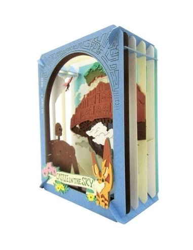 Castle in the Sky Paper Model Kit Paper Theater Behind the Clouds