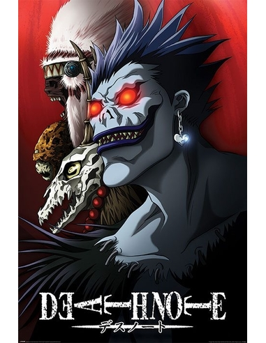 Death Note Poster Pack Shinigami 61 x 91 cm (5)
