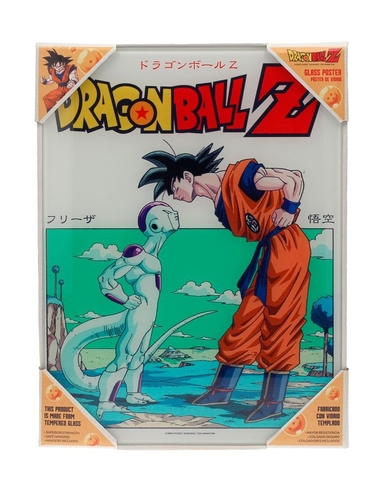 Dragon Ball Z Glass Poster Freezer 30 x 40 cm