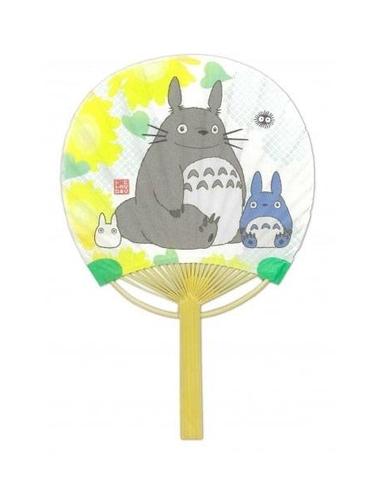My Neighbor Totoro Fan Totoro & Sunflower