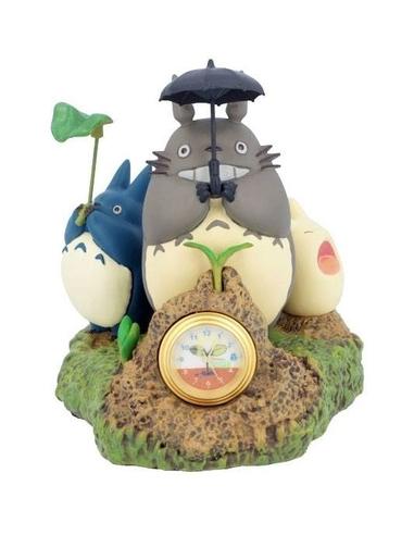 My Neighbor Totoro Table Clock Dondoko Dance 10 cm
