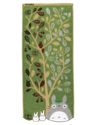 My Neighbor Totoro Towel Acorn Tree 34 x 80 cm