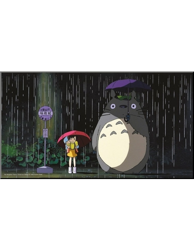 My Neighbor Totoro Wooden Wall Art Bus Stop