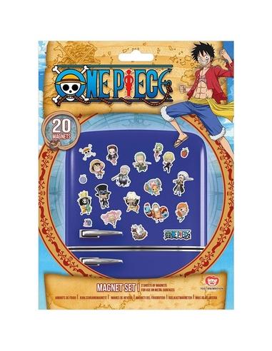One Piece Fridge Magnets Chibi