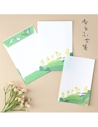 Princess Mononoke Letter Writing Set Kodama