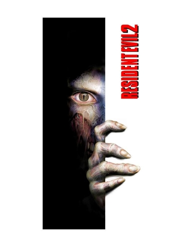 Resident Evil 2 Towel Nozoki 150 x 75 cm