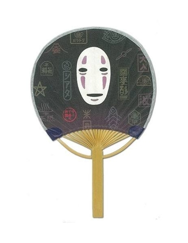 Spirited Away Fan No Face and Signboard