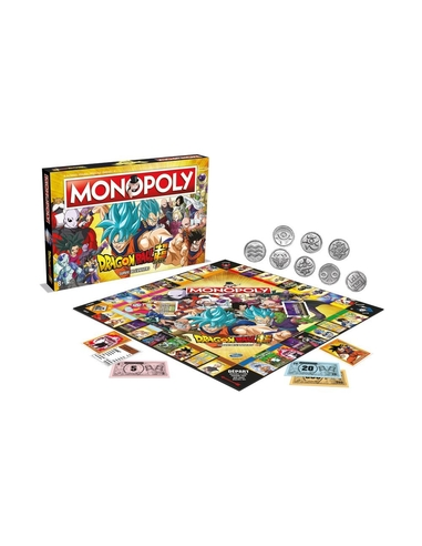 Dragon Ball Super Board Game Monopoly *French Version*