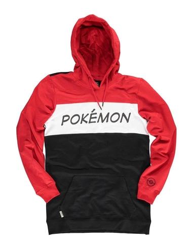Pokémon Hooded Sweater Colour Block