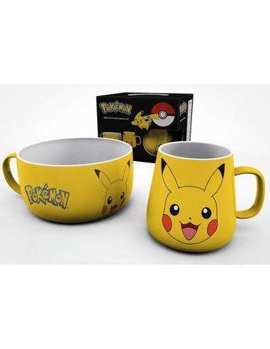 Pokémon Breakfast Set Pikachu
