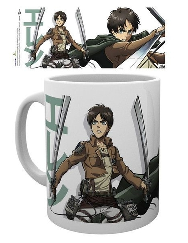 Attack on Titan Season 2 Mug Eren Duo