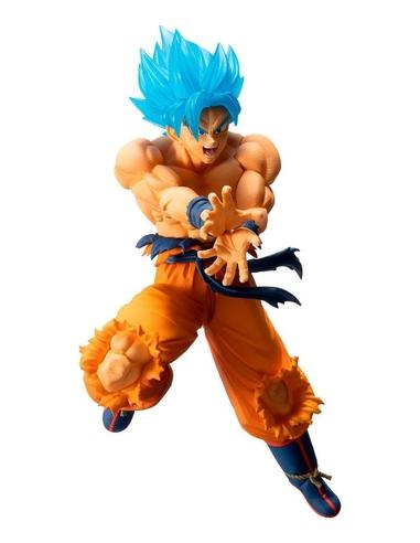 Dragon Ball Ichibansho PVC Statue Super Saiyan God Super Saiyan Son Goku 16 cm
