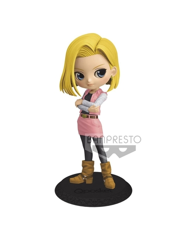 Dragon Ball Z Q Posket Mini Figure Android 18 Ver. B 14 cm