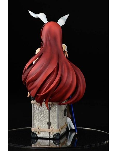 Fairy Tail PVC Statue 1/6 Erza Scarlet Bunny Girl Style Type White 20 cm