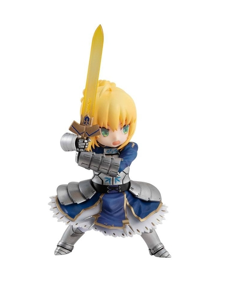 Fate/Grand Order Desktop Army Action Figure Saber / Artoria Pendragon 14 cm
