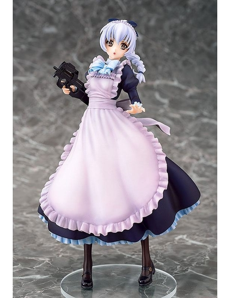 Full Metal Panic! Invisible Victory PVC Statue 1/7 Teletha Testarossa Maid Ver. 24 cm