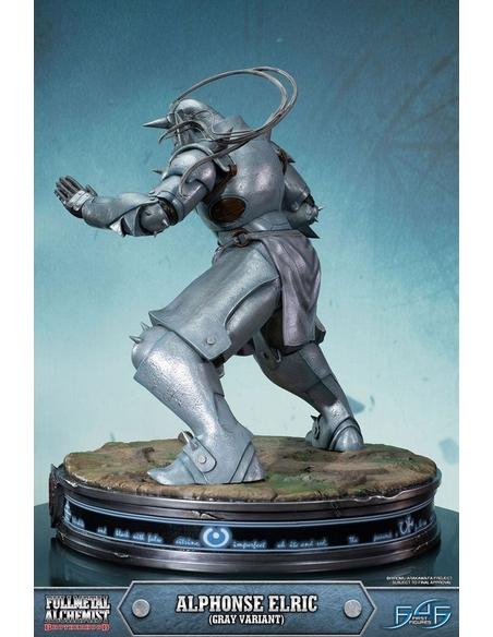 Fullmetal Alchemist Brotherhood Statue Alphonse Elric Gray Variant 55 cm