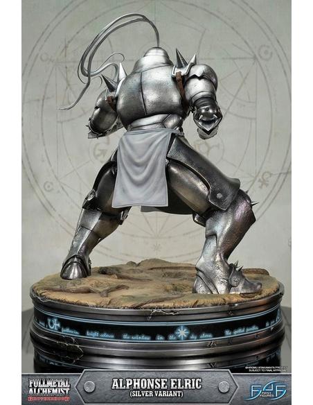 Fullmetal Alchemist Brotherhood Statue Alphonse Elric Silver Variant 55 cm