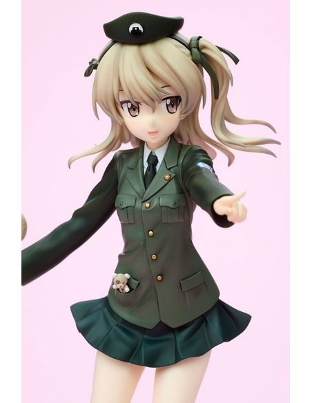 Girls und Panzer DreamTech PVC Statue 1/8 Alice Shimada Panzer Jacket Ver. 19 cm
