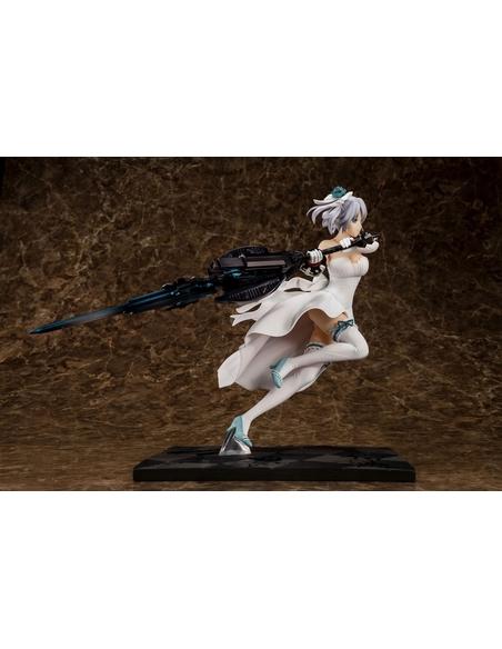 God Eater PVC Statue 1/7 Ciel Alenson Pure White Anniversary Dress Ver. 28 cm