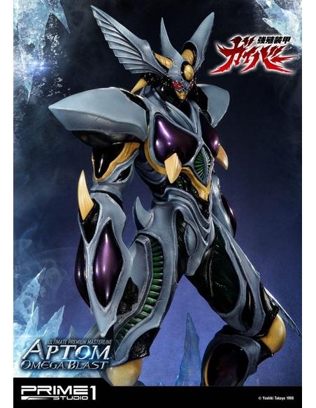 Guyver The Bioboosted Armor Statue 1/4 Aptom Omega Blast 84 cm