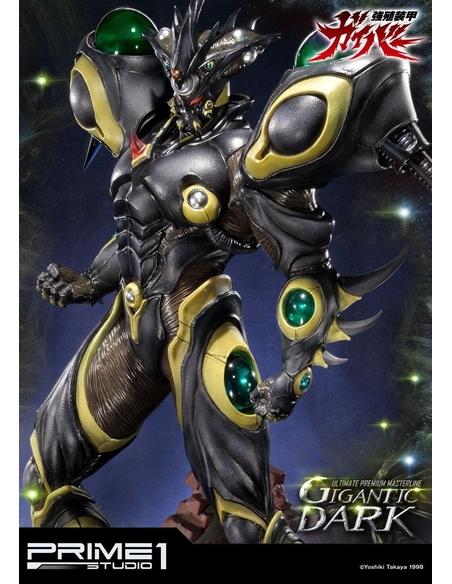 Guyver The Bioboosted Armor Statue Gigantic Dark 87 cm