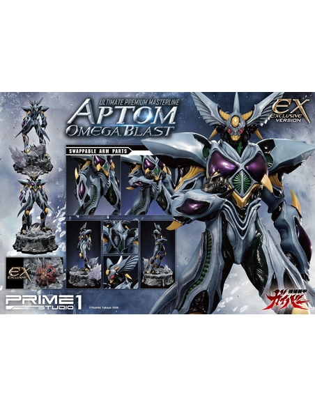 Guyver The Bioboosted Armor Statues Aptom Omega Blast & Exclusive 84 cm Assortment (3)